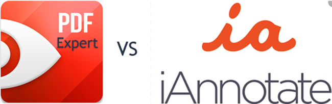 PDF Expert vs iAnnotate