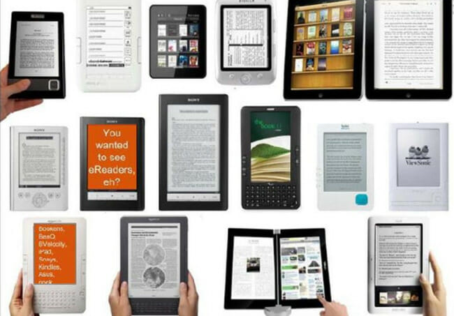 Nook ibooks and Sony Reader