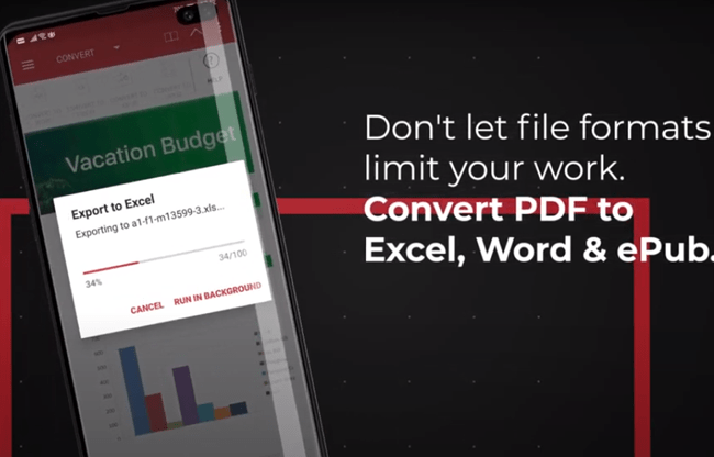 Convert to Different File Formats