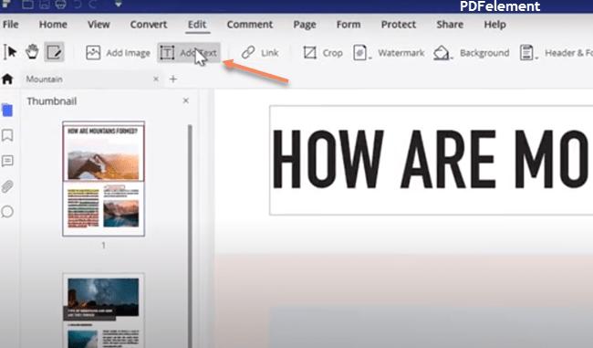 Write on Document